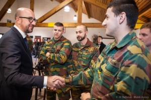 photo Malek Azoug/ Défense belge