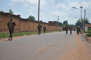 Des Chasseurs Ardennais en patrouille au Mali (photo Fraternelle des Chasseurs Ardennais)