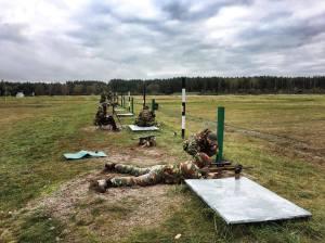 Des snipers du 12/13 Ligne lors de l'exercice Baltic Piranha (photo 12/13 Ligne)