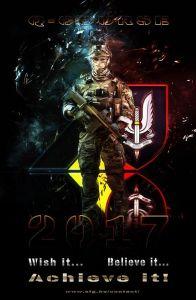 Photo de recrutement publiée sur la page FB des SFG