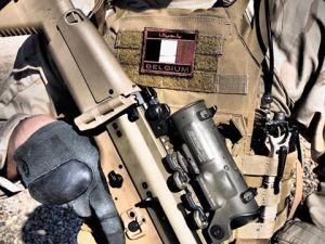Un militaire belge en Irak (photo d'illustration)